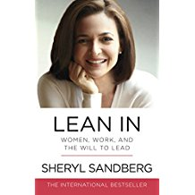 Lean In - Sheryl Sandberg's book.
