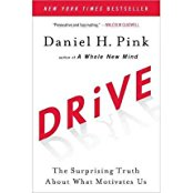 Cover of Daniel Pink's book DRIVE