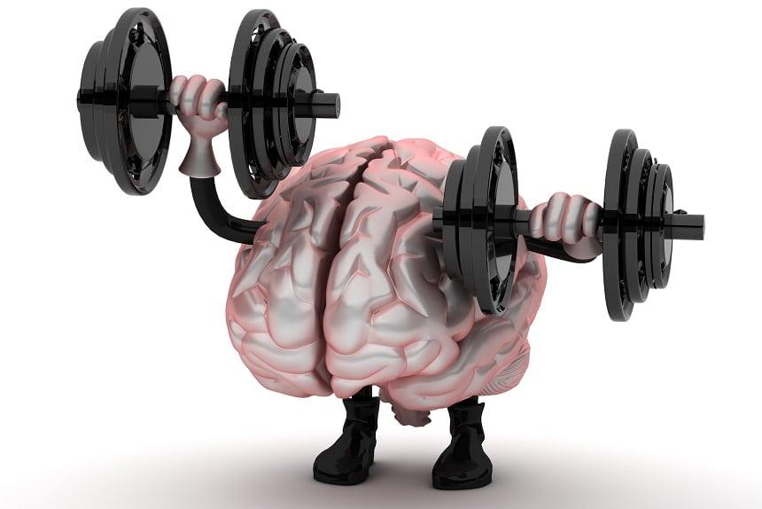 Resilient, mentally tough brain