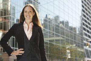Assertive Woman Leader