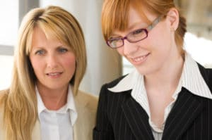 two-businesswomen